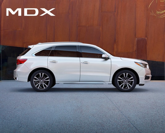 2019 Acura MDX Homepage Model Line